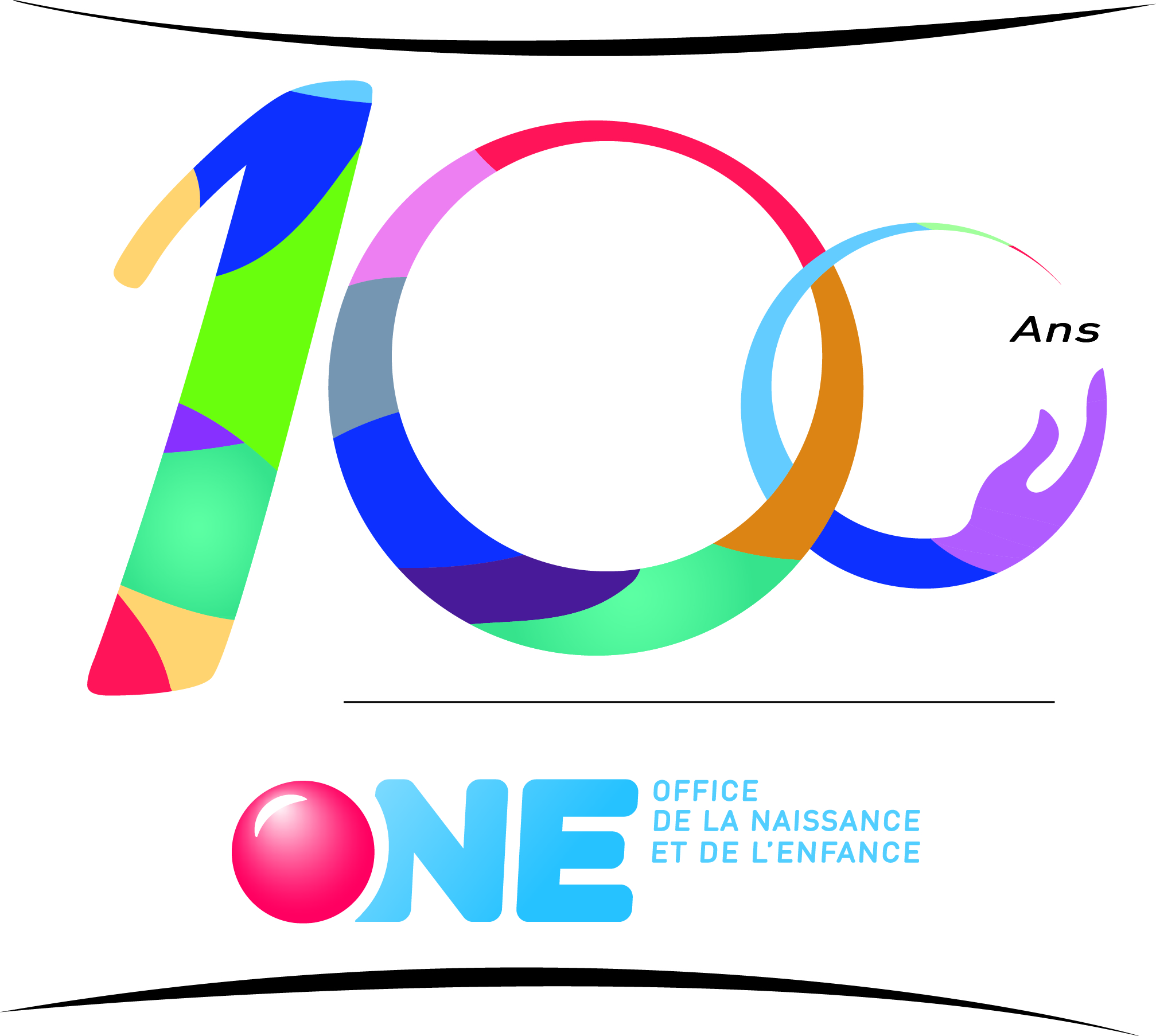 logo 100 ans ONE